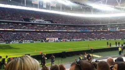Wembley Stadium section 105