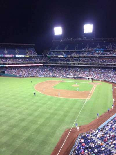 Citizens Bank Park, section: 333, row: 1, seat: 23