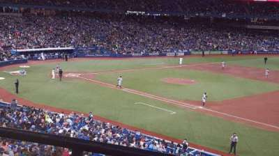Rogers Centre, section: 215R, row: 2, seat: 1