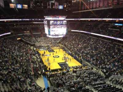 verizon center, section: 407, row: a, seat: 5