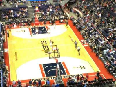 verizon center, section: 408, row: k, seat: 13