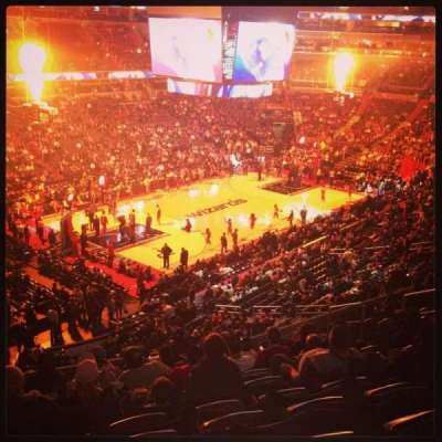 Verizon Center, section: 211, row: l, seat: 1