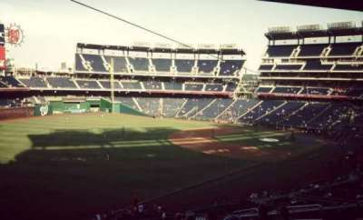 Nationals Park, section: 202, row: N, seat: 8