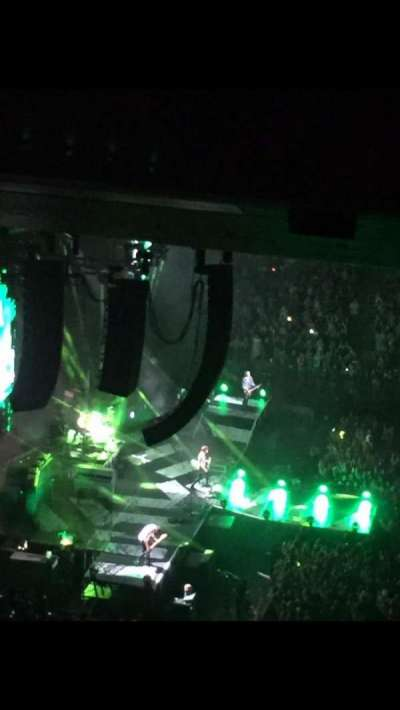 Madison Square Garden, section: 223, row: 22, seat: 16