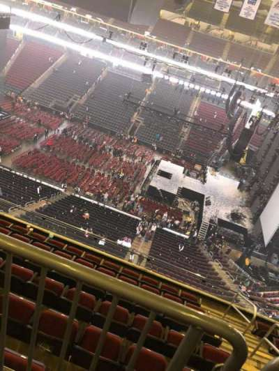 Prudential Center section 215