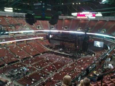 Honda Center, section: 439, row: R, seat: 6