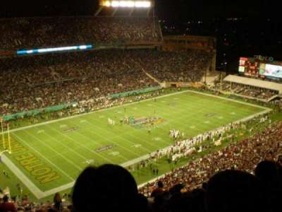Orlando Citrus Bowl Stadium, section: 315, row: FF, seat: 22