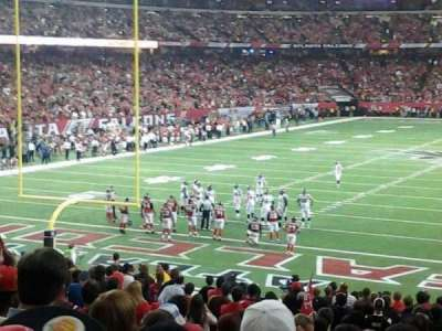 Georgia Dome section 104