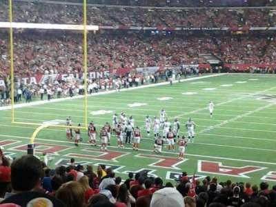 Georgia Dome, section: 104, row: 28, seat: 17