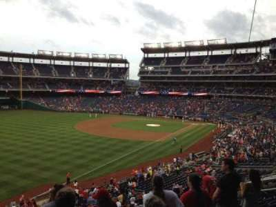 Nationals Park, section: 202, row: H, seat: 14