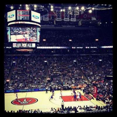 Air Canada Centre, section: 108, row: 24, seat: 6