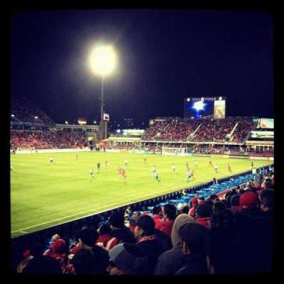 BMO Field section 111