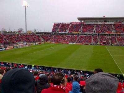 BMO Field section 108