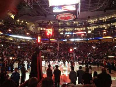 Air Canada Centre, section: 113, row: 5, seat: 7