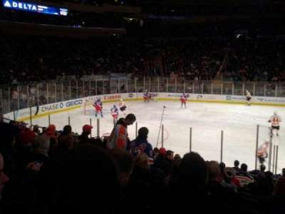 Madison Square Garden, section: 106, row: 10, seat: 13