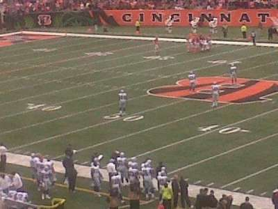 Paul Brown Stadium, section: 235, row: 3, seat: 1 and 2