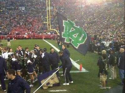 Notre Dame Stadium section 24