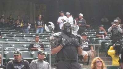 Oakland Alameda Coliseum section 105