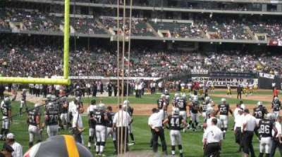 Oakland Alameda Coliseum section 105