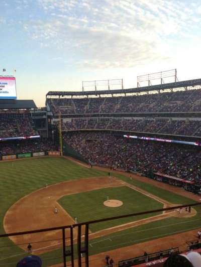 Globe Life Park in Arlington, section: 316, row: 3, seat: 8