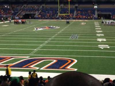 Alamodome, section: 144, row: 17, seat: 6