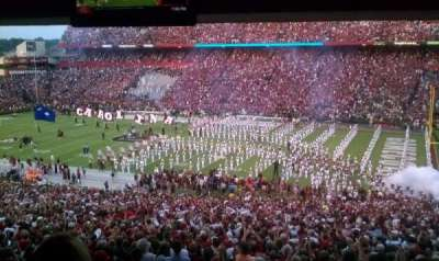 Williams-Brice Stadium, section: 208, row: 4, seat: 14