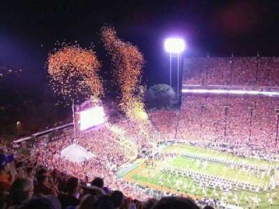 Memorial Stadium, Clemson section TDO