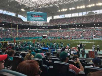 Hard Rock Stadium, section: 72club, row: 6, seat: 11