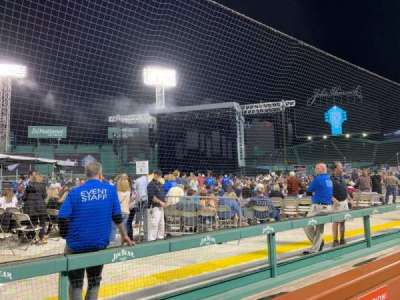 Fenway Park, section: Dugout, row: 2, seat: 1