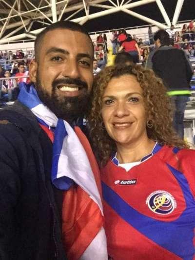 Estadio Nacional de Costa Rica, section: Este bloque E, row: M, seat: 8