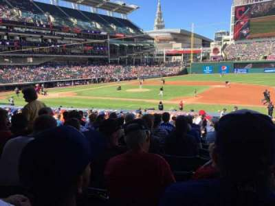 Progressive Field section 140