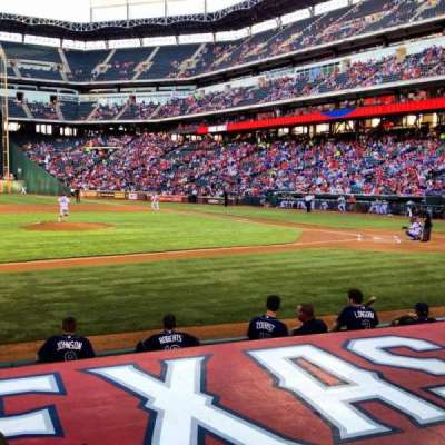 Globe Life Park in Arlington, section: 19L, row: 7, seat: 10