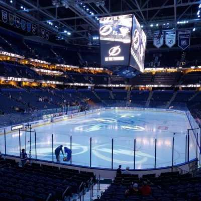 Amalie Arena section 122