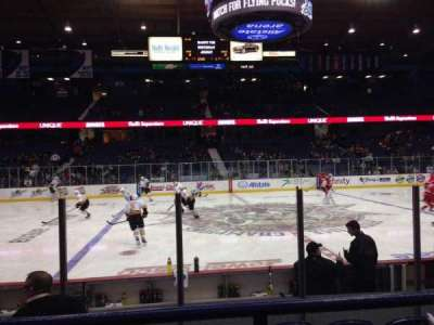 Allstate Arena, section: 111, row: B, seat: 9
