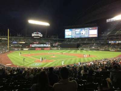 Safeco Field, section: 128, row: 36, seat: 1