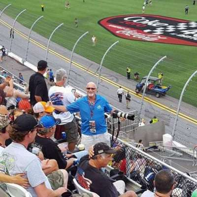 Daytona International Speedway, section: 351, row: 4, seat: 10