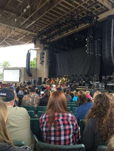 Klipsch Music Center, section: C, row: AA, seat: 21