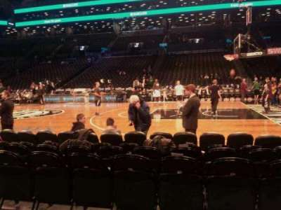 Barclays Center, section: 23, row: 2, seat: 8