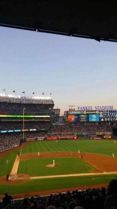 Yankee Stadium, section: 217 , row: 18, seat: 21