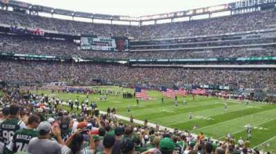 MetLife Stadium, section: 109, row: 25, seat: 7