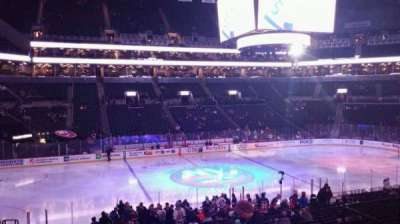 Barclays Center, section: 126, row: 4, seat: 7