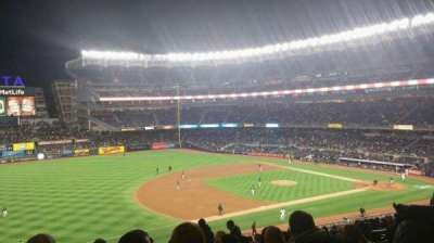 Yankee Stadium, section: 227B, row: 19, seat: 8