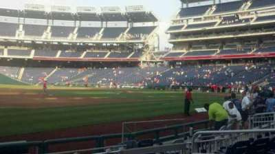 Nationals Park, section: 113, row: h, seat: 6