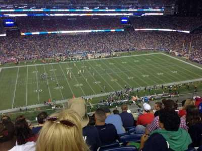Gillette Stadium, section: 311, row: 17, seat: 1