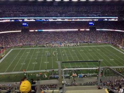 Gillette Stadium, section: 310, row: 17, seat: 1