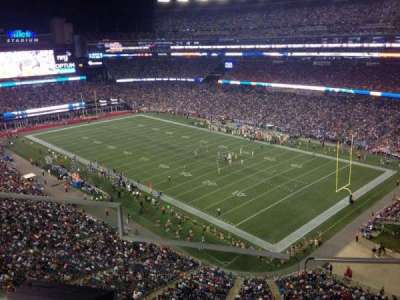 Gillette Stadium section 301
