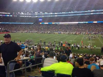 Gillette Stadium section 107