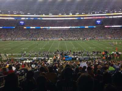 Gillette Stadium, section: 109, row: 35, seat: 21