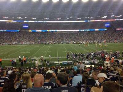 Gillette Stadium, section: 111, row: 23, seat: 3
