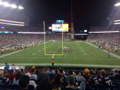 Gillette Stadium section 120